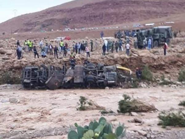 Inondations au Maroc: 11 morts dans un accident de bus