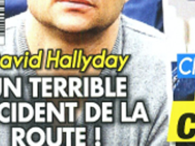 David Hallyday, terrible accident, drame qui le hante