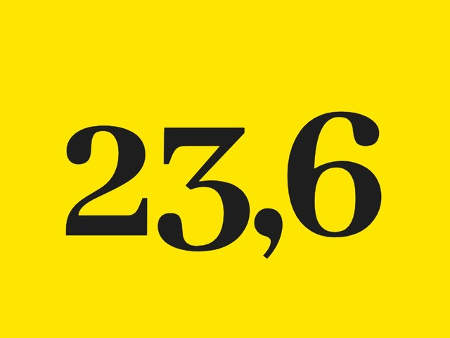 Le chiffre de la semaine : 23,6 millions d'euros