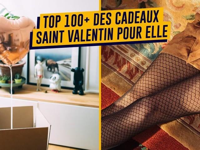Top 100+ des idées de cadeaux Saint Valentin pour femme, pour changer des fleurs