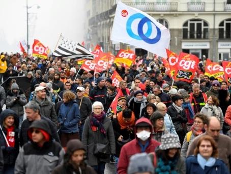 A Rennes, des manifestants moins nombreux mais aussi déterminés
