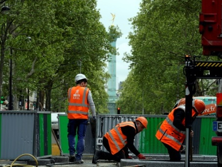 Des travaux, encore des travaux: Paris livré aux pelleteuses pour la cause verte