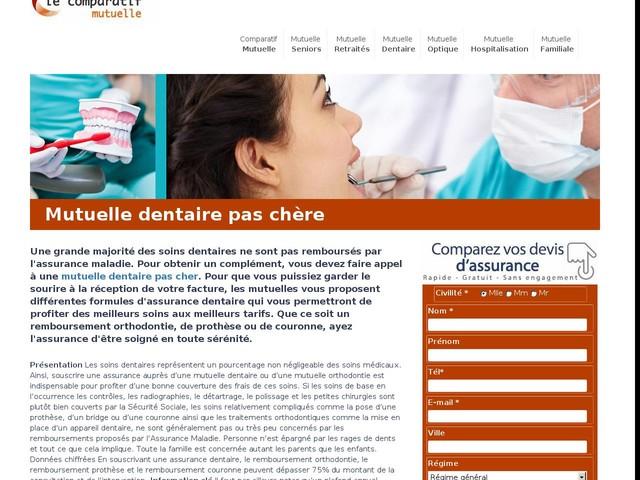 Mutuelle dentaire | remboursement Prothèses et implants pas chère