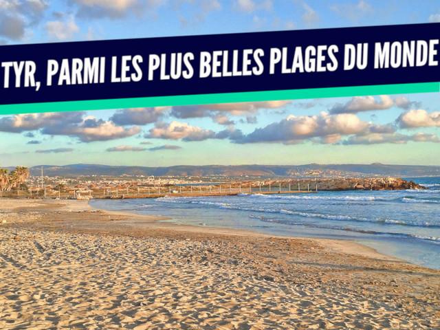 Top 10 des plus belles plages du Liban, un avant-goût de l'été