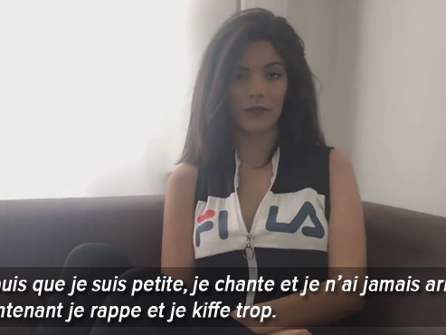 Alyssa Bass, la rappeuse qui veut se faire un nom parmi les nouvelles stars du rap belge