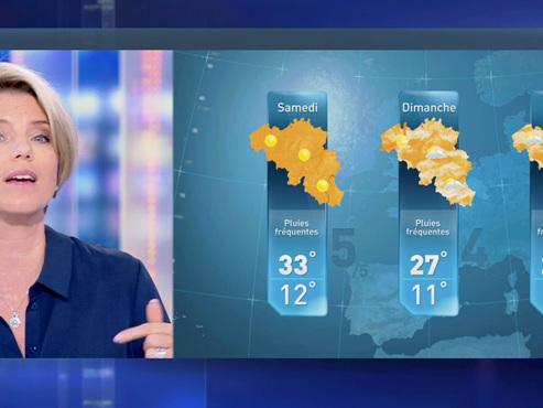 """Prévisions météo: l'été fait son retour """"en trois axes"""" sur notre pays"""