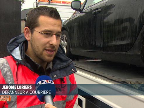 """Les dépanneurs du Namurois refusent de baliser la route après un accident: """"Ce n'est pas notre métier, et encore moins d'aller ramasser les objets"""""""