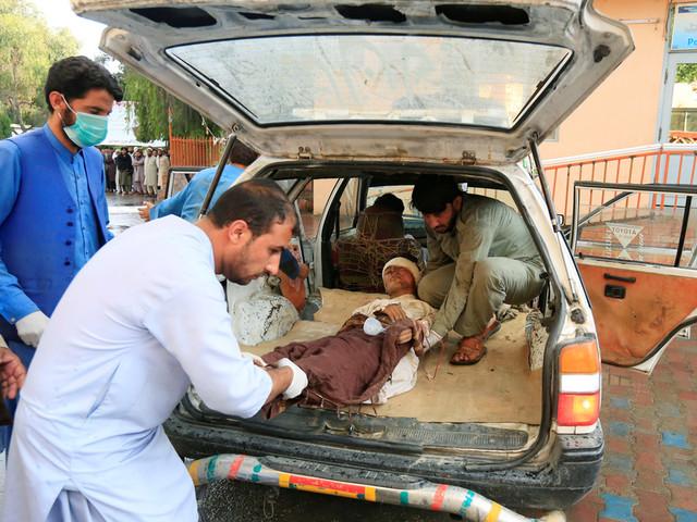 Attentat dans une mosquée en Afghanistan: 62 morts