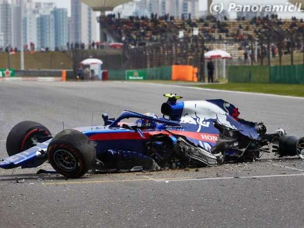F1 - Gros accident pour Albon à Shanghaï [vidéo]