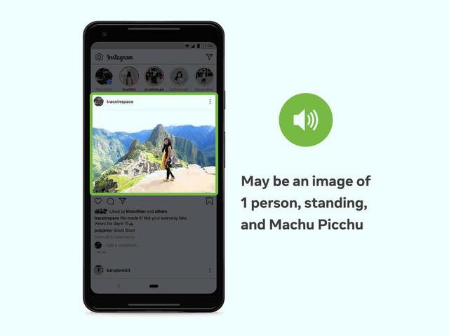 Accessibilité: Facebook améliore son IA de description des photos