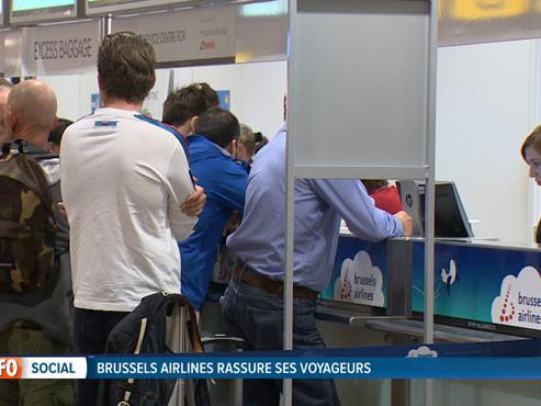 Dans la tourmente, la direction de Brussels Airlines tente de rassurer et de trouver une solution pour tous ses passagers impactés par la grève des pilotes
