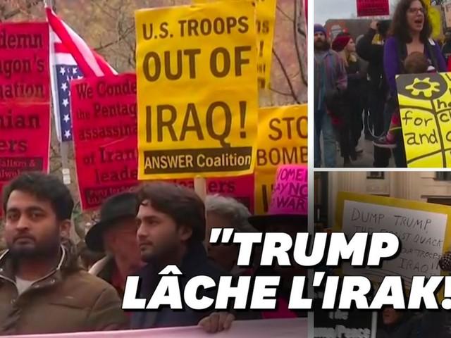 Aux États-Unis, mobilisations contre la guerre avec l'Iran
