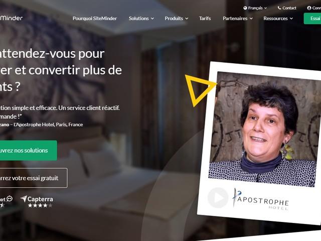 SiteMinder lève plus de 62 millions d'euros