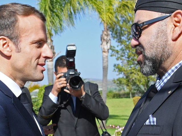 Le roi Mohammed VI félicite Emmanuel Macron à l'occasion du 14 juillet