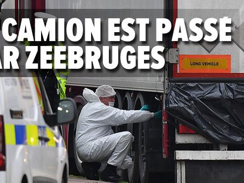 39 corps découverts dans un camion en Angleterre: comment ce convoi a-t-il pu passer les contrôles en Belgique?