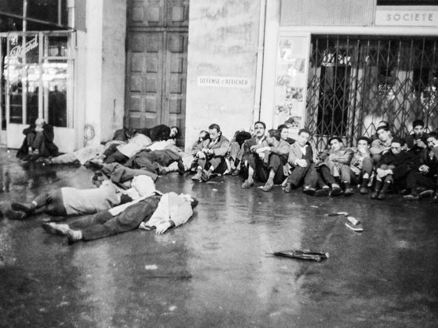 Ce 17octobre 1961 à Paris, une manifestation du FLN algérien réprimé dans le sang