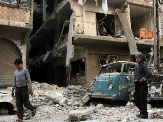 En Syrie, pas de répit pour les habitants de la Ghouta orientale