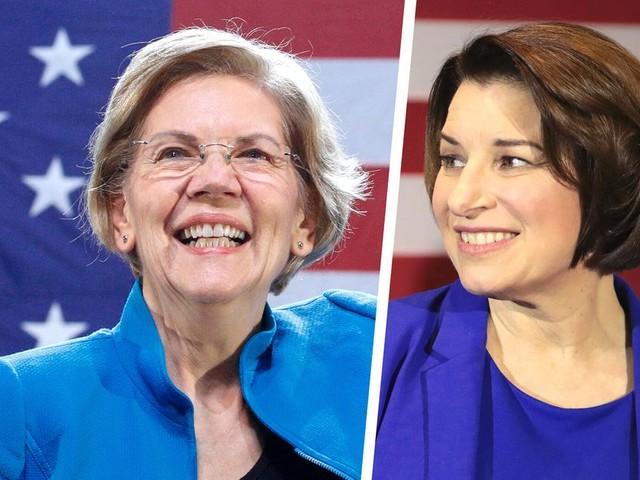 """Présidentielle américaine 2020: Elizabeth Warren et Amy Klobuchar soutenues par le """"New York Times"""""""