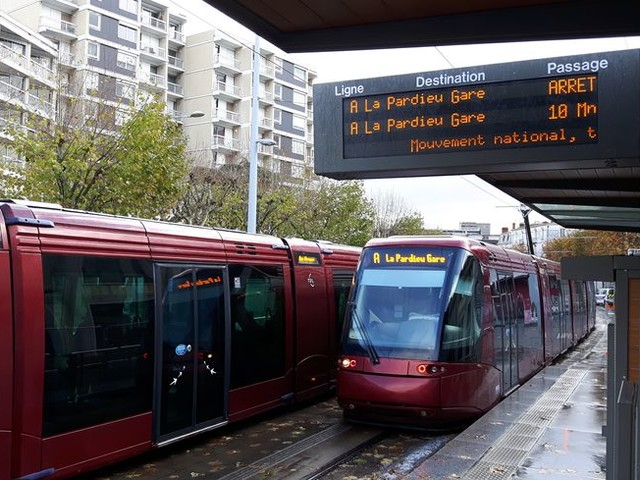 Journée de mobilisation: encore très peu de TER mais un peu plus de trams et de bus à Clermont