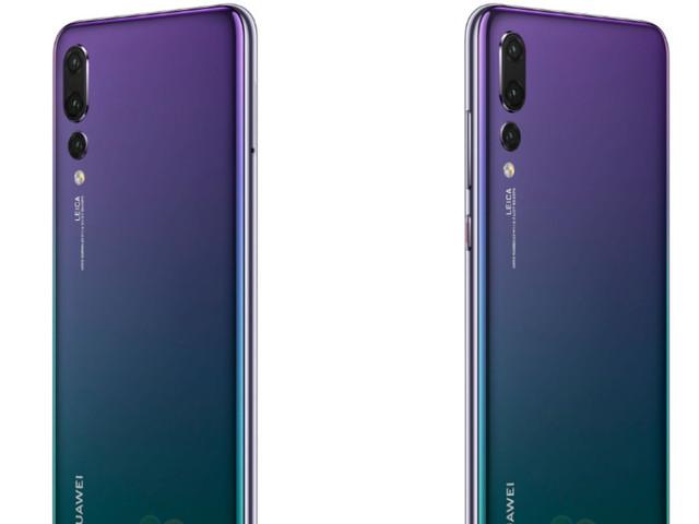 Dégradé de couleurs, trois objectifs: toutes les rumeurs sur le Huawei P20