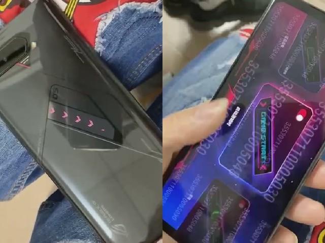 ROG Phone 4 (5) : de nouvelles photos dévoilent un écran RGB sur la coque arrière
