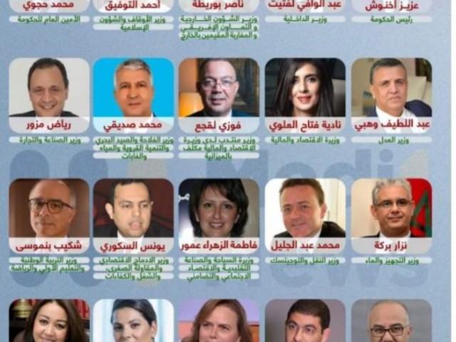 Maroc : nomination d'un nouveau gouvernement