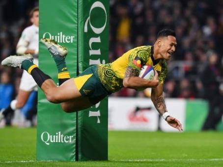 Rugby: La fédération australienne et Folau ont réglé leur litige sur son limogeage