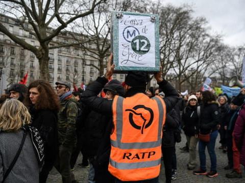 Grève dans les transports lundi: trafic attendu peu perturbé à la RATP
