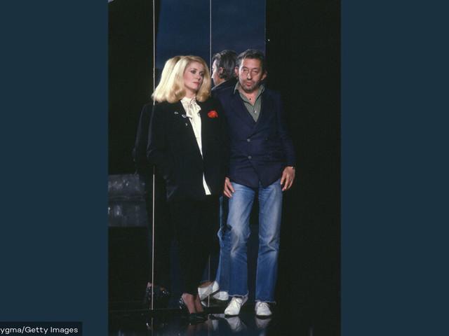 Catherine Deneuve etSerge Gainsbourg : amitié, brouille et virées nocturnes