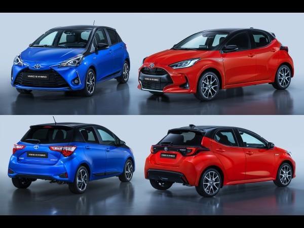 La nouvelle Toyota Yaris (2019) face à l'ancienne