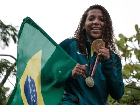 Judo: la championne olympique brésilienne Rafaela Silva contrôlée positive