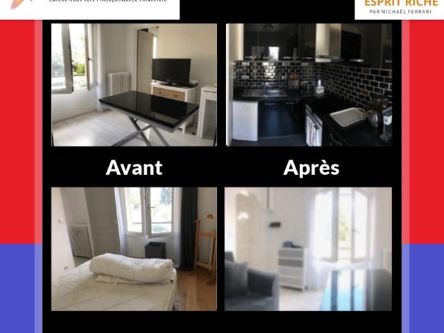La location meublée de Julien à Villejuif : 224 € de cashflow mensuel