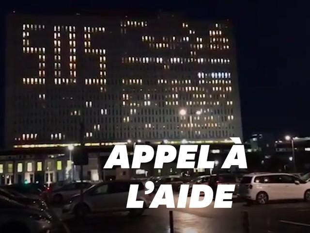 Les SOS très originaux du CHU de Caen pour alerter sur le sort de l'hôpital