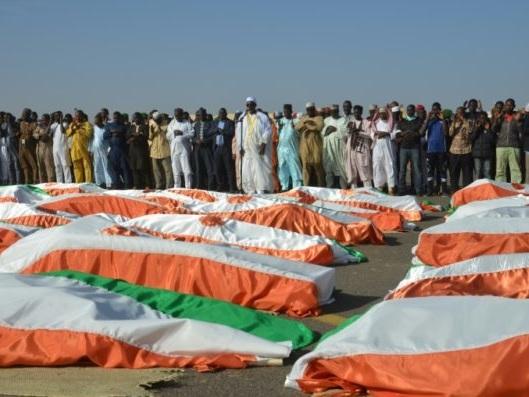 Le Niger en deuil rend hommage à ses soldats tués à Inates