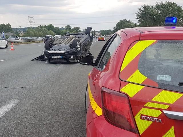 Le conducteur qui a pris l'autoroute A62 à contresens au nord de Toulouse est entre la vie et la mort
