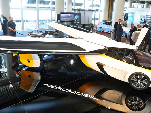 Voiture volante, voiture hélico... Des entreprises développent de nouveaux véhicules: voici ce que nous réserve l'avenir
