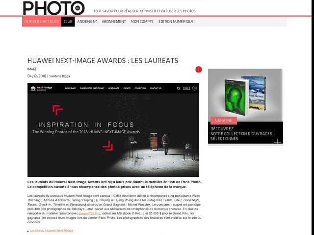 Huawei Next-Image Awards : les lauréats