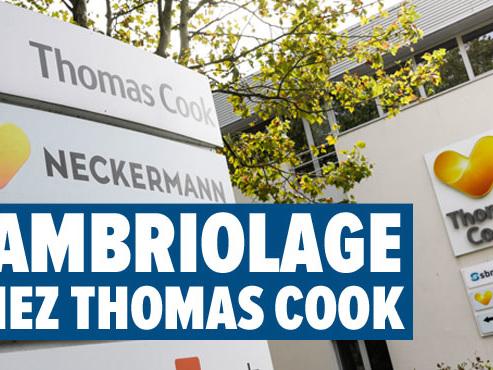 Natacha achète 2 ordinateurs portables de Thomas Cook mis aux enchères: ils ont été volé au siège de l'entreprise