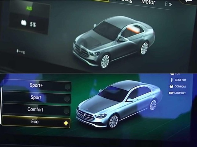 Voici la nouvelle Mercedes Classe E en fuite !