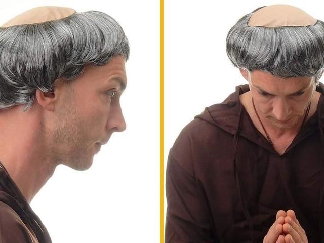 [TOPITRUC] Une perruque de moine, pour te préparer à ta calvitie