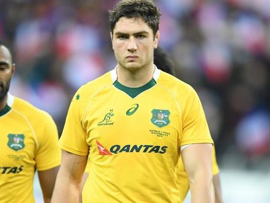 Rugby - AUS - Bledisloe Cup : Rob Simmons, le 2e ligne australien, titulaire contre les All Blacks