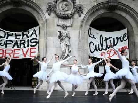 Retraites: concession du gouvernement aux danseurs de l'Opéra de Paris