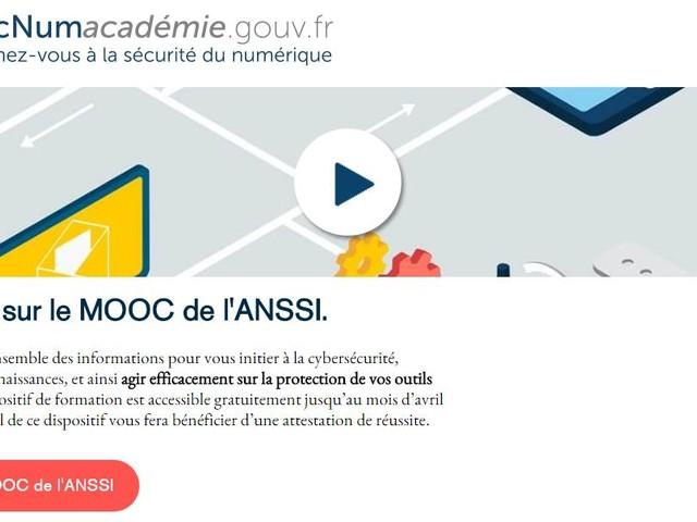 Un MOOC pour s'initier à la cybersécurité