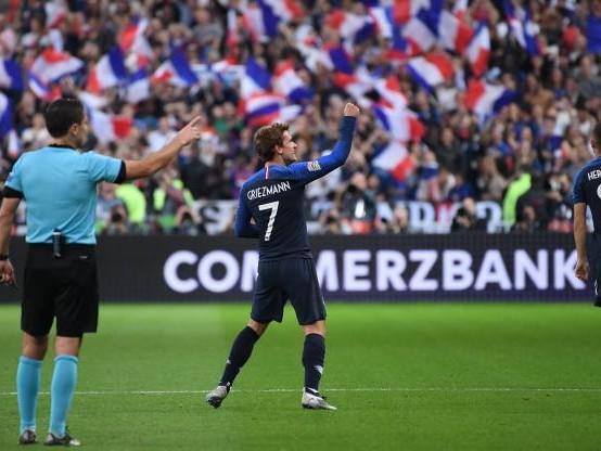 Foot - L. nations - Ligue des nations : Antoine Griezmann et les Bleus renversent l'Allemagne et s'envolent