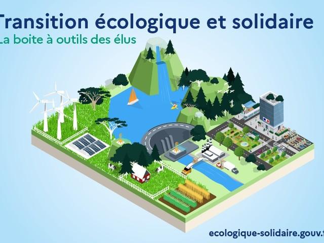 Transition écologique et solidaire : boîte à outils des élus
