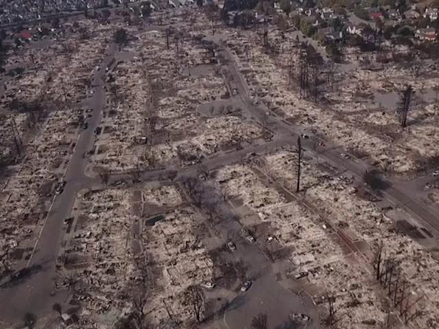 Ces paysages de Californie dévastés par les incendies ressemblent à des zones de guerre
