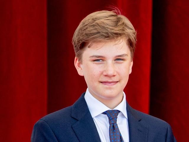 Le prince Gabriel a déjà 16 ans