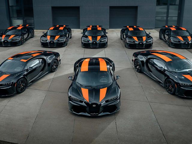 PHOTO - Bugatti Chiron Super Sport 300+ (2021), 33,6 milions d'euros sur la même image
