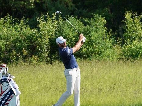 Golf: Dustin Johnson a les muscles pour triompher dans l'US Open