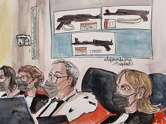 DIRECT. Procès du 13-Novembre: au septième jour d'audience, la cour d'assises spéciale va diffuser des images des attaques